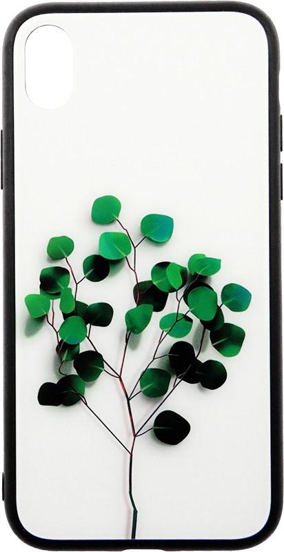 Чехол-накладка TOTO Glass Fashionable Case Apple iPhone XR Tree of Life White #I/S