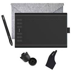 Графический планшет ПРО с пером HUION New 1060 Plus 8192 суперкомплект