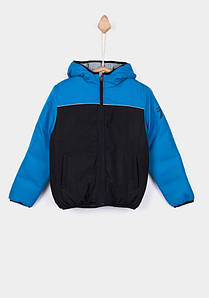 Куртка для мальчика демисезонная двухсторонняя с капюшоном