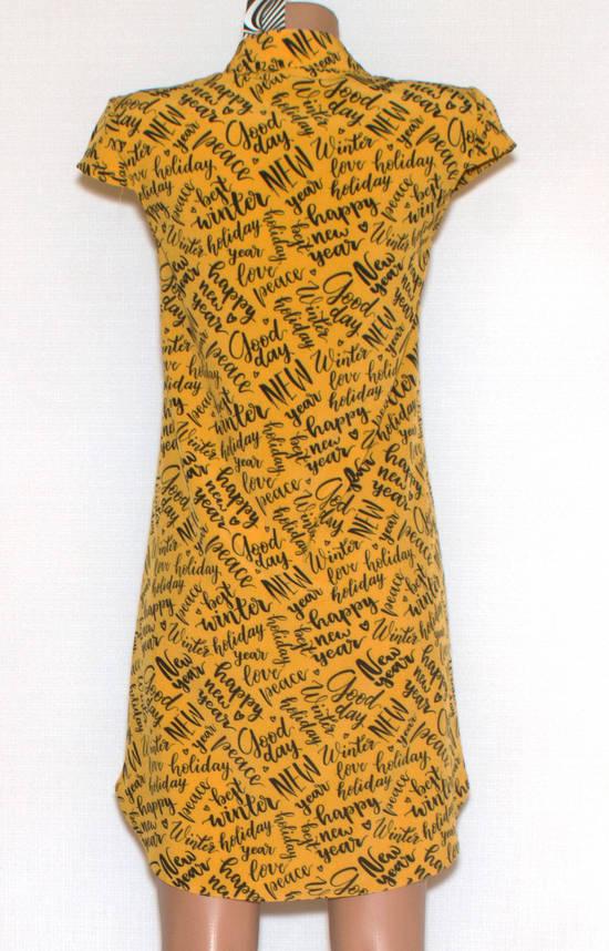 Літнє плаття сорочка короткий рукав (42-44), фото 2