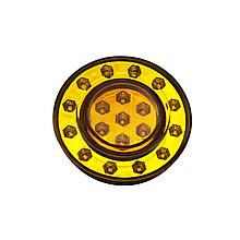 Фонарь задний светодиодный Желтый NEOPLAN 18LED NOKTA