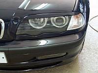 Накладки на фары (Реснички) BMW E46, фото 1