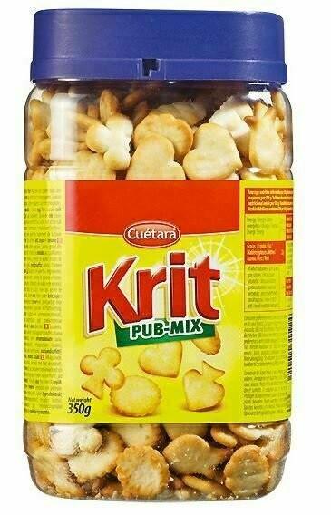 Печиво бісквітне Cuetara Krit Rub-mix 350 г Іспанія