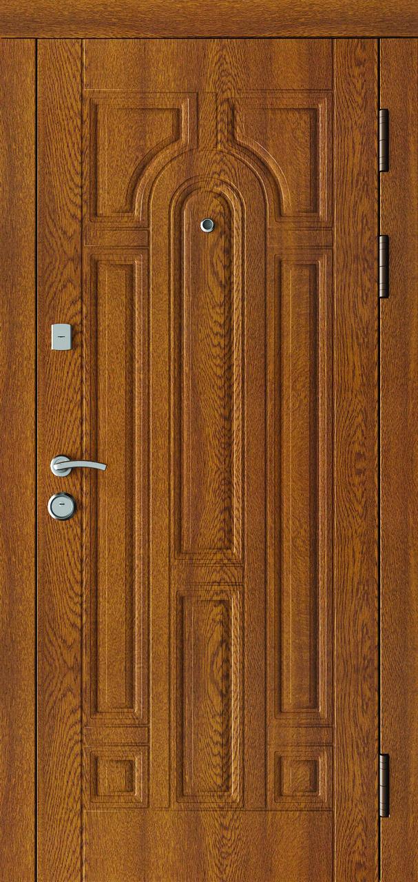 Двері вхідні SARMAK CLASSIC 110/Дуб бронза