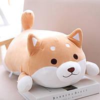 Игрушка подушка мягкая антистресс собака Шибу Ину