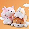 Сиба ину игрушка подушка мягкая антистресс собака, фото 10
