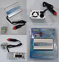 Инвертор NV-M 150Вт 12-220 + USB встроенный кабель на автомобильный прикуриватель