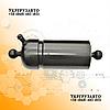 Гидроцилиндр подъема кузова ГАЗ-53, САЗ-3507 4-х штоковый, (сфера-сфера / сфера-бугель) ГУ-3507-01-8603010