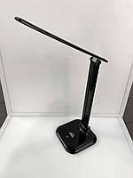 Настольная LED лампа 9W 4000K черная Glory Right Hausen (HN-245212)