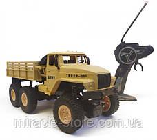Радиоуправляемая машинка  военный грузовик на дистанционном управлении, фото 3