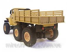 Радиоуправляемая машинка  военный грузовик на дистанционном управлении, фото 2