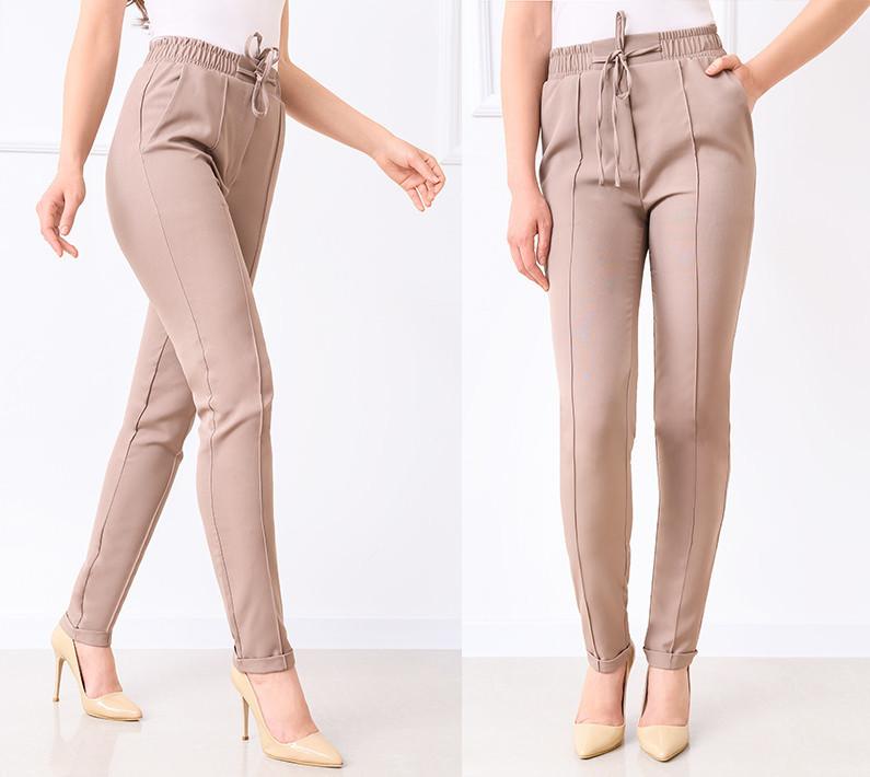 """Стильные женские брюки с высокой посадкой """"Indigo"""""""