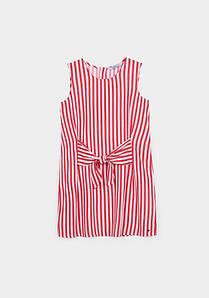 Платье для девочки в полоску