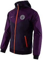 Ветровка Nike MANCHESTER CITY SPORTSWEAR MENS WR WOVEN AUTHENTIC фиолетовая AJ3295-541