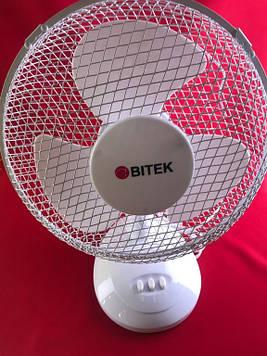 Вентилятор настільний bitek bt-1210 30См 40ВТ