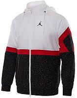 Ветровка Nike DIAMOND CEMENT JACKET черно-белая AR3242-101