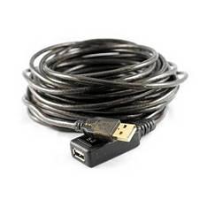 10м USB 2.0 удлинитель активный репитер