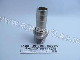 """Штуцер AGR-K 1""""-11  (под шланг dу=25 мм.)"""
