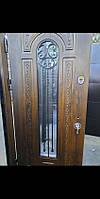 Двери входные ПО,ПК,ПВ-139 V Дуб темный Vinorit 960*2050-левая