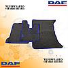 Велюровые коврики Daf xf 105 Синие Автомат