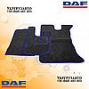 Велюровые коврики Daf xf 105 Синие Механика