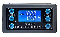 Модуль генератора імпульсів ШІМ з відображенням параметрів на РК дисплеї ZK-PP1K, фото 1