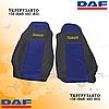 Чехлы на сиденья DAF XF95.105.xf.cf.lf Синего цвета