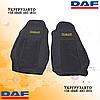 Чехлы на сиденья DAF XF95.105.xf.cf.lf Черного цвета