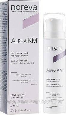 Крем-гель для чувствительной кожи Норева Альфа КМ Noreva Alpha KM GEL-CRÈME JOUR 30 мл