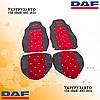 Чехлы на сиденье KADİFE DAF XF 95 Красные