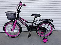 Велосипед двухколесный «Crosser» Rocky 13 Фиолетовый (колеса 16 дюймов)