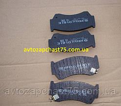 Колодки тормозные передние Nissan Almera N15,  Sunny IV(производитель Intelli)