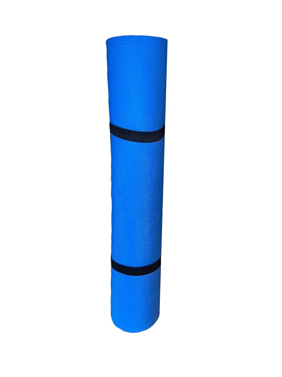 Коврик для фитнеса синий, т. 5 мм, размер 50х180 см, производитель Украина, TERMOIZOL®