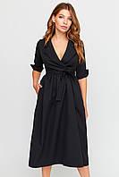 S | Вечірнє чорне плаття May