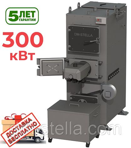 Пеллетный котел с автоудалением золы 300 кВт DM-STELLA, фото 2