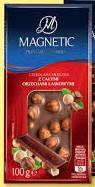 Молочный шоколад с лесными орехами Magnetic Czekolada Mleczna z Orzechami  100 г, фото 2