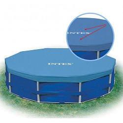 Тент 28031 INTEX для каркасного бассейна диаметром 366 см - крышка для бассейна