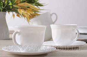 Набор чашек с блюдцами 9cl для кофе  ARCOROC  TRIANON, фото 2