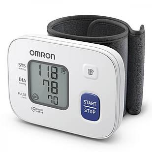 Тонометр тискомір автоматичний на зап'ястя OMRON RS2  НЕМ-6161-E