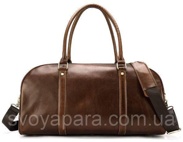 Дорожная сумка флотар 14896 Vintage Коричневая