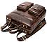 Рюкзак-сумка 2 в 1 для ноутбука Vintage 20035 Коричневый, фото 6