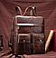 Рюкзак-сумка 2 в 1 для ноутбука Vintage 20035 Коричневый, фото 9