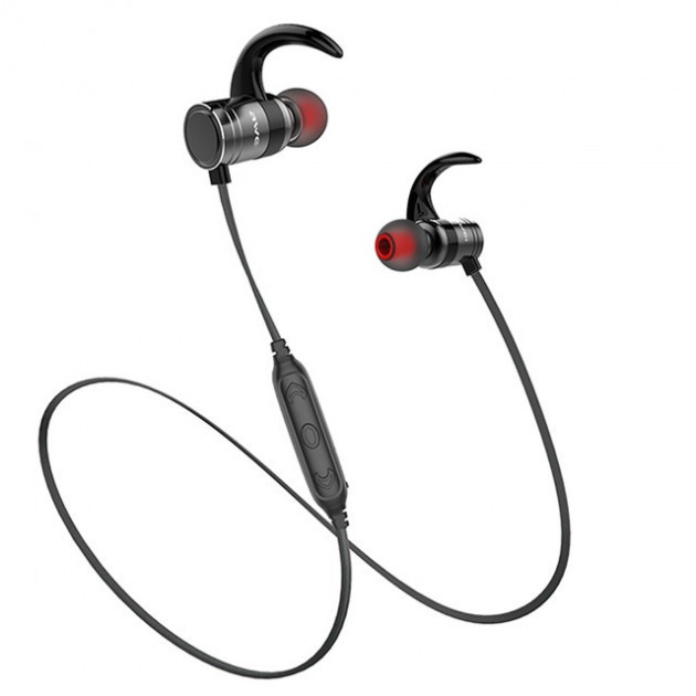 Bluetooth наушники беспроводные Awei AK4 5014 Black