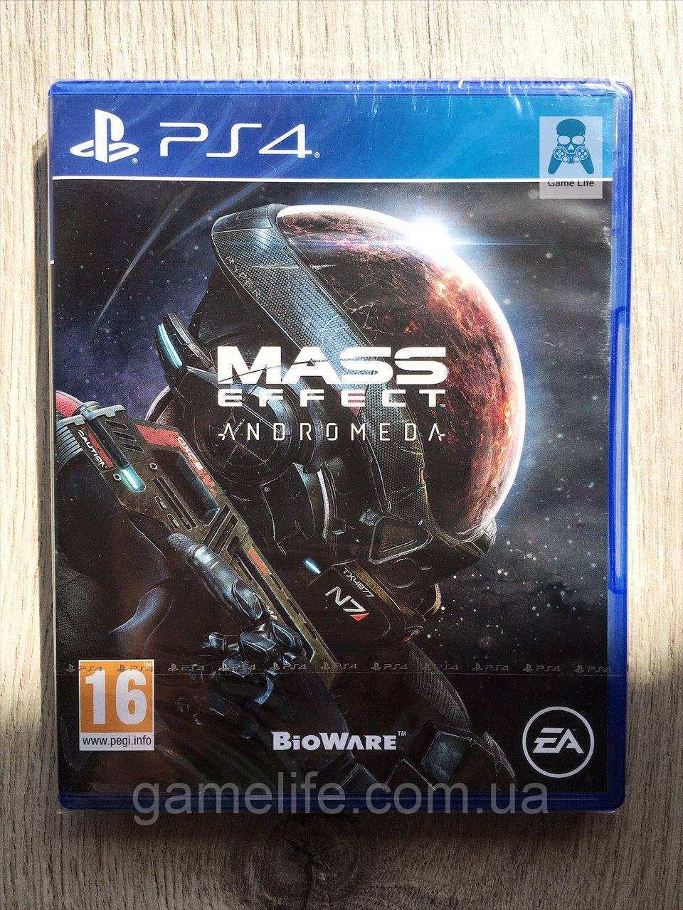 Mass Effect Andromeda (рус. суб.) PS4