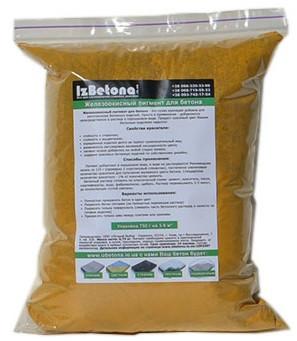 Краситель для бетона Желтый ТС313, 750 гр
