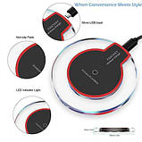 Беспроводная зарядка QI передатчик Fantasy Wireless Charge K9 Black, фото 2