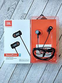 Наушники JBL SoundTrue (микрофон, круглый шнур) black