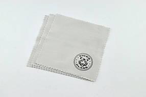 Салфетка для поклейки защитного стекла микрофибра Tiger 10х10 см (10 шт в комплекте)