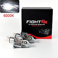 Светодиодные LED Лампы H4 FightER