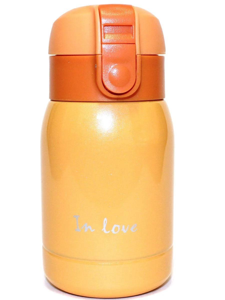 Термос железный In Love SLD-250OR 200мл, оранжевый